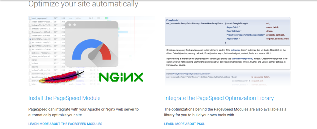 PageSpeed Module how