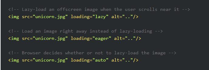 native lazy loading